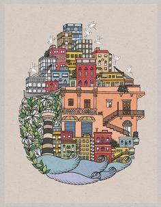 My Beirut.... by Mo Rusan http://morusan.tumblr.com/