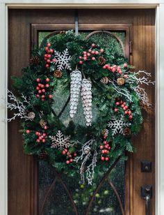 My DIY Woodlands Christmas Wreath - I got crafty! :-) — DESIGNED