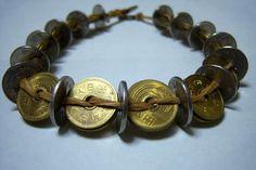The 895 Yen Choker - Japanese coin necklace tutorial