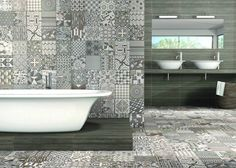 Patchwork Grey Tiles