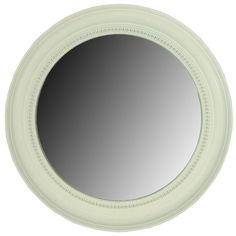 Get White Wash Round Beveled Framed Mirror online or find other Wall Mirrors products from HobbyLobby.com