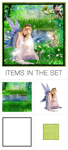 """"""" World of FAIRY """" by purplerose27 ❤ liked on Polyvore featuring art"""