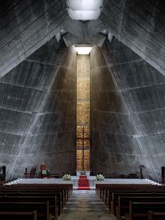 St. Mary's Cathedral, Tokyo | Kenzo Tange