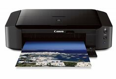 Aimed at the moderately serious photo enthusiast, the Canon Pixma iP8720 Wireless Inkjet Photo Printer offers a low initial price and the ability to print at up to 13 by 19 inches.