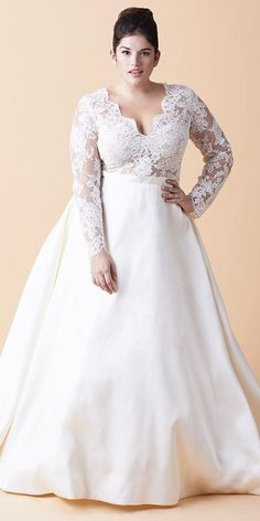 8bc6367458a5c The Best Wedding Dresses for Fat Arms!
