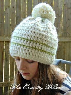 Willows Delight Hat - A Free Crochet Pattern - The Country Willow