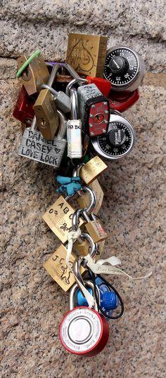 NYC Love Locks  Photo by: Ron Redfern