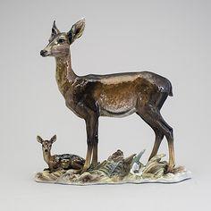 10182786 bukobject Deer Art, Moose Art, Deer Statues, Clay Art, Objects, Sculpture, Pretty, Animals, Animales