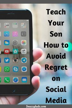 Tips to teach your kids about social media.