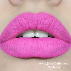 Jolani Jolie: Daily Lip Swatch: Kat Von D Everlasting Love Liquid Lipstick Backstage Bambi