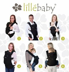 lillebaby COMPLETE Baby Carrier Airflow