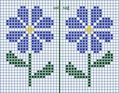 Patterns for children's embroidery 0 Mini Cross Stitch, Cross Stitch Heart, Cross Stitch Cards, Simple Cross Stitch, Cross Stitch Flowers, Cross Stitch Kits, Cross Stitch Designs, Cross Stitch Patterns, Stitching On Paper