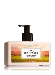 Signature Collection Rosé Champagne Body Lotion - Bath And Body Works