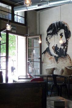 proyecto interiorismo y decoracion industrial con muebles FS