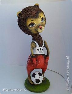 Куклы Лепка Папье-маше Лучший друг Пашка   Бумага Клей Краска фото 1