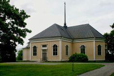 Koivulahti Lutheran church.  Mustasaari, Ostrobothnia province of Western Finland.- Pohjanmaa - Österbotten