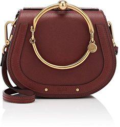 Chloé Women's Nile Small Leather Crossbody Bag #ad