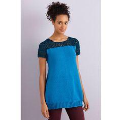Ravelry: Knit and Crochet Tunic pattern by Lily M. Chin