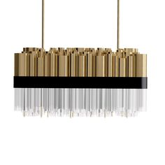 "Granville - Dering Hall DimensionsHEIGHT 31.5"" WIDTH 31.5""Location Lisbon, PortugalCategoryLighting, CeilingProduct TypeMade-to-OrderLead Time4-6 WeeksMaterialBrass and glass"