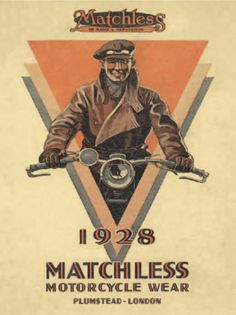 Vintage Motorcycles 370139663100007472 - Another great poster from matchless motorcycles Source by jacquespomarez Bike Poster, Motorcycle Posters, Motorcycle Art, Bike Art, Women Motorcycle, Poster Wall, Pub Vintage, Vintage Bikes, Vintage Racing