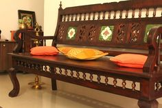 Living room makeover - A Kerala style interior in the making ~ Indian Woodworking,DIY,Arts,Crafts Blog