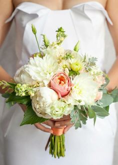 Another beautiful wedding bouquet from Kwiaty i Miut