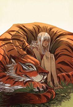 Image result for tiger druid