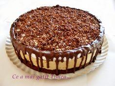 Ce a mai gatit Timea. Dessert Bread, Dessert Recipes, Desserts, Romanian Food, Something Sweet, Cheesecakes, Yummy Cakes, Tiramisu, Food And Drink