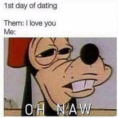 Dating, love, and memes: day of dating them: i love you Memes Humor, Cat Memes, Cartoon Memes, Cartoon Characters, Funny Images, Funny Pictures, Funny Pics, Reaction Pictures, Best Dating Apps