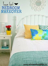 Echoes of Laughter: Teen Girl Bedroom Makeover