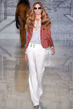 Gucci Resort 2009 Fashion Show - Kim Noorda