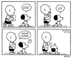 Peanuts - This strip was published on December 24, 1953.