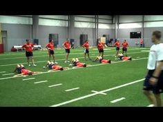 Auburn Softball Monday Workout 9 27 2010 Speed and Power Drills.wmv