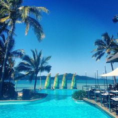 blues at their best. Photo thanks to the talented Zanita Whittington, Hamilton Island, Visit Australia, Marina Bay Sands, Places To See, Things To Do, Blues, Building, Instagram Posts