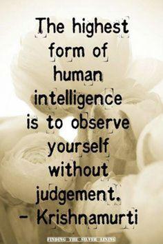 #Observe #Mindful #Objective