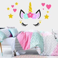 cuarto room Pink Things polo t shirts pink color Kids Bedroom Sets, Girls Bedroom, Bedroom Decor, Unicorn Rooms, Unicorn Bedroom, Big Girl Rooms, Baby Boy Rooms, Disney Princess Pictures, Paris Rooms