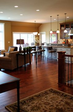 open floorplan - this entire house is absolutely beautiful