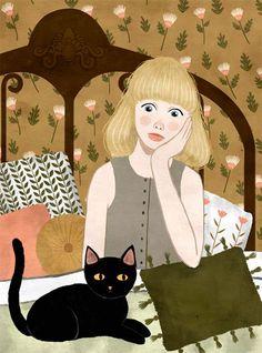 Os desenhos lindos de Annya Marttinen