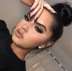 Make up fro women styles and inspiration Makeup On Fleek, Flawless Makeup, Glam Makeup, Gorgeous Makeup, Pretty Makeup, Love Makeup, Makeup Inspo, Skin Makeup, Makeup Inspiration