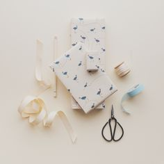 Our Pukeko wrapping paper from the Great NZ Wrapping Paper book!