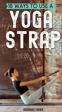 How to Use a Yoga Strap: 18 Yoga Strap Stretches for Beginners Never knew how amazing a yoga strap can be for improving my yoga practice. These different ways are perfect for beginners starting their yoga journey. Yoga Flow, Yoga Meditation, Yoga Vinyasa, Yoga Bewegungen, Cardio Yoga, Yoga Routine, Yoga Poses For Beginners, Workout For Beginners, Yoga Inspiration