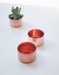 Mini Copper Planter - Julia Kostreva, $18