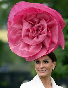 Chapeau extravagant à Ascot