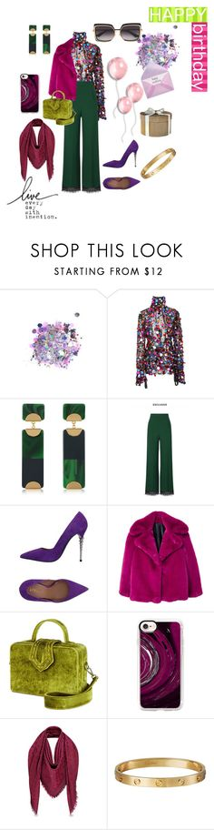 """Untitled #47"" by givemesomecolor on Polyvore featuring The Gypsy Shrine, Tory Burch, Roland Mouret, Le Silla, MANGO, Mehry Mu, Casetify, Cartier and Dita"