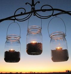 Always a Charming Add to any wedding. And there are so many ways to customize and make Mason Jar Lights just Perfect for your wedding :)