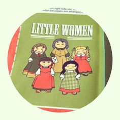 DIY fabric Little Women Baby/toddler cloth quiet book by MellyMo, $8.00