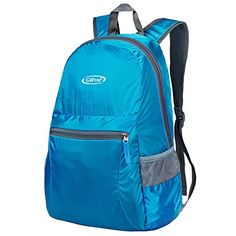 G4Free Ultra Lightweight Packable Backpack Hiking Daypack Handy Foldable Camping Outdoor BackpackBlue -- Click image to review more details. http://www.amazon.com/gp/product/B010NGLP90/?tag=camping3638-20&plm=100117203242
