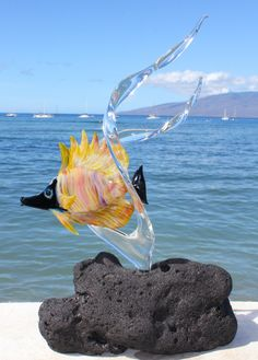 Fused Glass, Murano Glass, Sean Price, Swarovski Crystal Figurines, Life Under The Sea, Cool Art, Fun Art, Glass Jewelry, Color Mixing