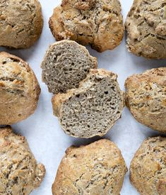 Koldhævede boller - Valdemars ro Sweet Life, Breakfast Recipes, Muffin, Brunch, Healthy Recipes, Healthy Food, Snacks, Cookies, Baking