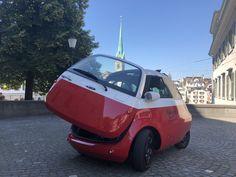 Der Microlino erhält die Zulassung für die Schweiz und die europäischen Märkte, mit zwei Batterien ist er bis zu 202 Kilometer einsetzbar.